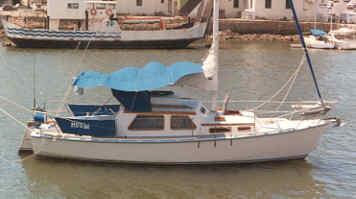 Hartley boat plans 'Hartley 28' sail boat