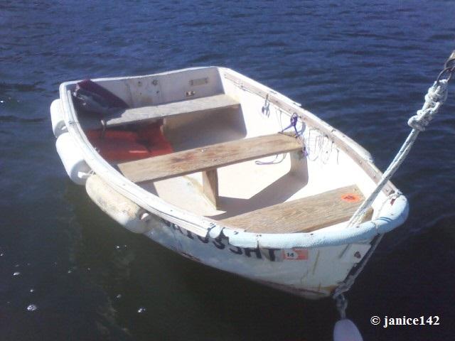 Flotation collar for dinghy